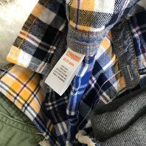 04caeaea Baby boy jeans lot shirt 12-18 months zara gap